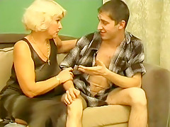 Fabulous Homemade clip with Young/Old, Mature scenes