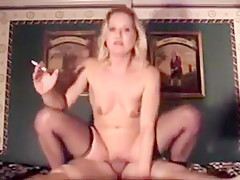 Hottest Homemade clip with Stockings, Smoking scenes