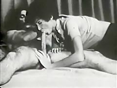 Incredible Amateur movie with Vintage, Hairy scenes