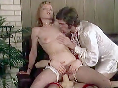 Exotic Homemade clip with Cunnilingus, Vintage scenes