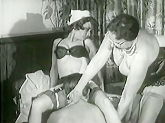Hottest Homemade video with Threesome, Vintage scenes
