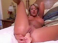 Hottest Amateur video with MILF, Solo scenes