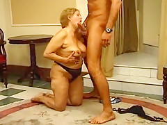 Horny Homemade movie with Cunnilingus, Mature scenes