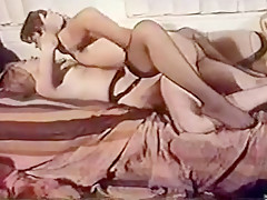 Crazy Homemade movie with Stockings, German scenes