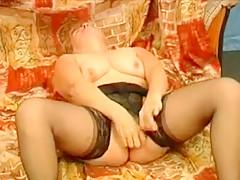 Best Amateur clip with Masturbation, Stockings scenes