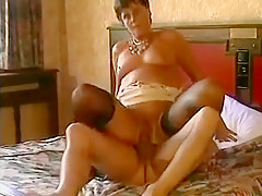 Fabulous Amateur video with Grannies, Stockings scenes