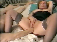 Amazing Homemade video with Fetish, Stockings scenes