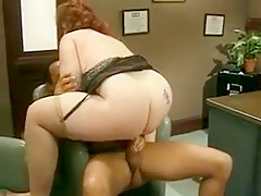 Incredible Homemade clip with Redhead, BBW scenes