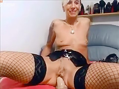 Hottest Amateur record with Piercing, Masturbation scenes