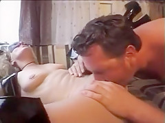 Incredible Amateur movie with Fisting, Threesome scenes