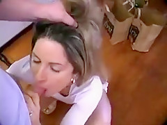 Horny Amateur record with Deep Throat, POV scenes