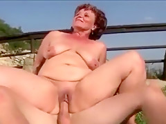 Horny Amateur clip with Mature, Outdoor scenes