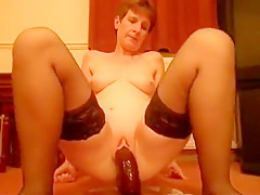 Fabulous Homemade clip with Stockings, Masturbation scenes