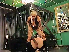 Crazy Homemade record with Spanking, Femdom scenes