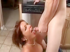 Exotic Amateur movie with Blowjob, Facial scenes