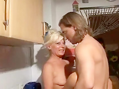 Crazy homemade Blonde, Young/Old xxx clip