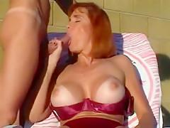 Incredible homemade Mature, Redhead xxx clip