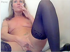 Fabulous amateur Stockings, Mature adult scene
