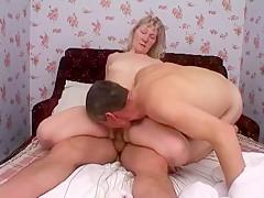 Hottest amateur Blonde, Cunnilingus sex scene