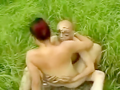 Exotic Homemade video with Big Tits, Outdoor scenes