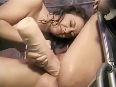 Exotic Amateur video with Cunnilingus, Toys scenes