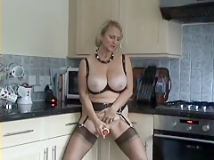 Fabulous Homemade clip with Blonde, Big Tits scenes