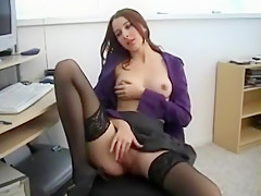 Best Amateur movie with Shaved, Stockings scenes