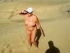 Exotic Amateur record with Nudism, Grannies scenes