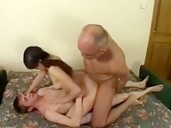 Best Amateur video with Brunette, Young/Old scenes