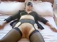 Hottest Amateur video with Stockings, Fingering scenes