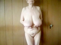 Horny Homemade video with Grannies, Solo scenes