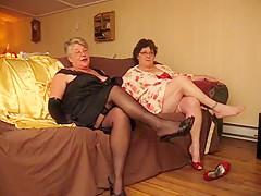 Fabulous Amateur clip with Stockings, Grannies scenes