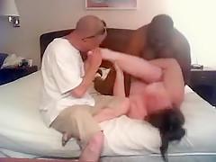 Amazing Homemade clip with Webcam, Interracial scenes