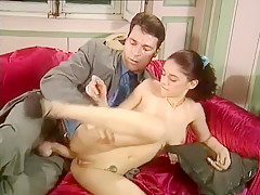 Horny Homemade movie with Girlfriend, Brunette scenes