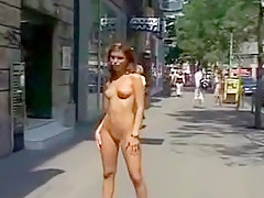 Exotic Amateur movie with Nudism, Outdoor scenes