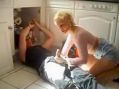 Incredible Homemade video with Mature, Blonde scenes