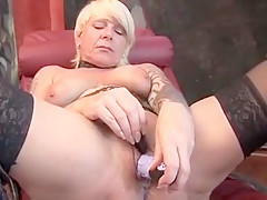 Exotic Homemade video with Toys, Stockings scenes