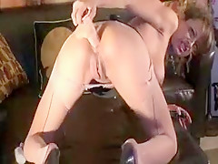 Hottest Homemade movie with Toys, Stockings scenes