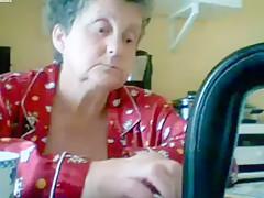 Incredible Amateur video with Grannies, Handjob scenes
