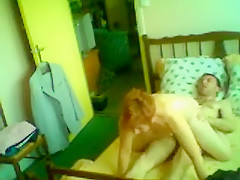 Crazy Homemade clip with Grannies, Redhead scenes