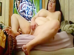 Exotic Homemade movie with Grannies, Toys scenes