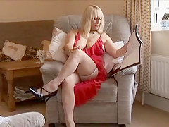Hottest Amateur video with BBW, Blonde scenes