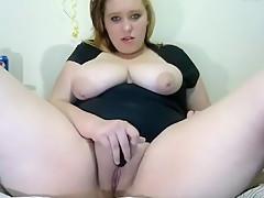 Fabulous Amateur movie with Masturbation, BBW scenes