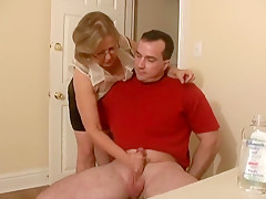 Exotic Amateur movie with German, Mature scenes