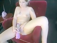 Horny Amateur movie with Skinny, Toys scenes