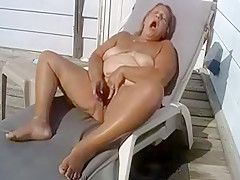 Horny Amateur record with Solo, Outdoor scenes