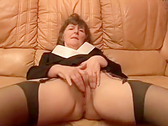 Crazy Homemade record with Stockings, Mature scenes