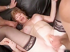 Hottest Homemade clip with Gangbang, Mature scenes