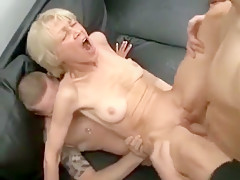 Exotic Homemade record with Young/Old, Mature scenes