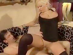 Hottest Amateur clip with MILF, Blonde scenes